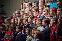 Kinderchor beim Singen