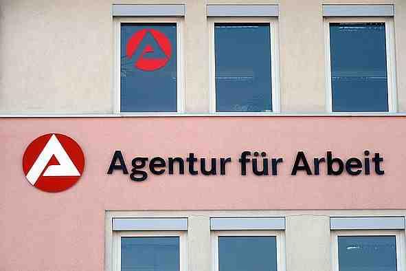 Gebäude einer Arbeitsagentur